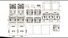 Autocad Apartment Drawing And Designs Flat House Design, Narrow House Designs, Sims 4 House Design, House Front Design, Student Apartment, Apartment Plans, Autocad, Philippines House Design, School Bus Camper