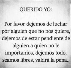 Querido Yo... ❤