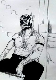 Japanese Wrestling, Japan Pro Wrestling, El Desperado, Kota Ibushi, Adam Cole, Kenny Omega, Character Portraits, People Art, Warriors