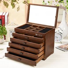 Amazoncom Extra Large Jewelry Box Cabinet Armoire Bracelet