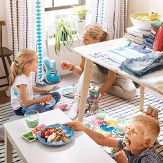 Čo tak sadnúť si dnes miesto stola na zem?