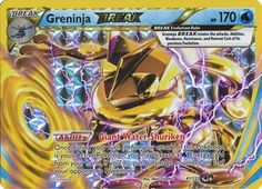 Greninja BREAK 41/122 Rare - Pokemon XY Breakpoint Card