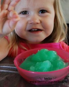 How to Make Slime - Kids Craft   - the Crafting Chicks
