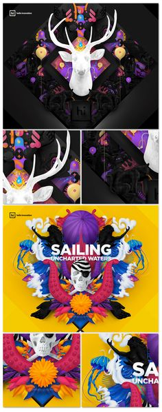 rafael kfouri`s déjà vu Web Design, Graphic Design, Design Graphique, Art Graphique, Design Poster, Print Design, Creative Flyers, Branding, 3d Artwork