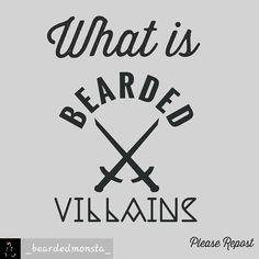 """""""Mi piace"""": 3, commenti: 1 - Pasquale Ferraro (@ferraro80p) su Instagram: """"@Regrann from @_beardedmonsta_ - - #regrann  Repost @_beardedmonsta_ ⚔BEARDED VILLAINS⚔  WHAT IS…"""""""