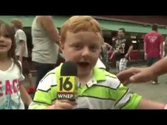 "Lol ""Apparently"" This Kid Is Awesome, Steals The Show During Live Interview - YouTube"