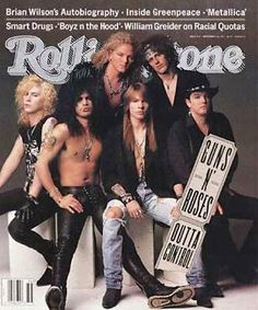 The old days - notice I didn't say good old days - the hair and outfits are bad music awesome - Guns N Roses - the 80s