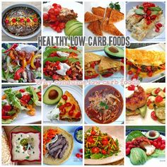 Healthy Low Carb Breakfast Lunch and Dinner recipes with Low Carb low Sodium & Calories, Low Sugar, Low Fat + High Protein, High Fiber, High Potassium Foods Mexican Food Recipes, Real Food Recipes, Diet Recipes, Cooking Recipes, Healthy Recipes, Banting Recipes, Paleo Food, Diet Meals, Mexican Dishes