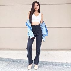 Most people stop by Southeast Asia to see the gorg Nadine Lustre Ootd, Nadine Lustre Fashion, Nadine Lustre Outfits, High Street Fashion, Street Style, Flattering Outfits, Casual Outfits, Cute Outfits, Liza Soberano
