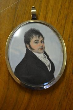 Early 19th Century Head And Shoulder Portrait Miniature