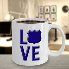 Check out this item in my Etsy shop https://www.etsy.com/listing/498691398/law-enforcement-love-coffee-mug-police