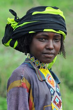 Africa | Borana Oromo woman. Ethiopia | ©edwardje, va NationalGeographic