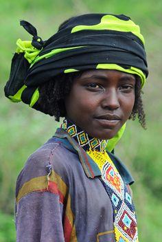 Africa   Borana Oromo woman.  Ethiopia   ©edwardje, va NationalGeographic