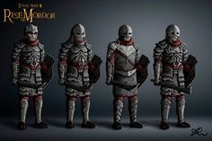 My Fantasy World, Fantasy Art, Orc Armor, Paper Models, Middle Earth, Lord Of The Rings, The Hobbit, Knight, Concept Art