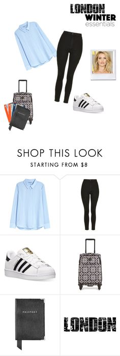 """"""";"""" by julia-wolna on Polyvore featuring moda, H&M, Topshop, adidas, Ultimate, Vera Bradley, Aspinal of London i Tim Holtz"""