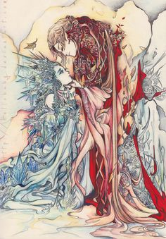 My dear, don't be afraid of me by Hellobaby.deviantart.com on @deviantART    Prints are available now ♥.