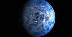 Os astrónomos decifraram, pela primeira vez, o tom de cor de um mundo distante. O exoplaneta, chamado HD 189733b, é um azul cobalto profundo e fica a cerca de 63 anos-luz da Terra.