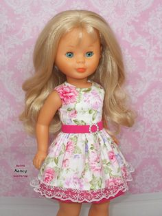 Nancy entre costuras Ropa American Girl, American Girl Clothes, Girls Dresses, Flower Girl Dresses, Summer Dresses, Marie Clare, Doll Fancy Dress, Kool Kids, Groomsmen