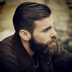 This dude is killin it with the beard. I should totally do this. If only my beard wasn't so patchy.