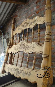 Antique Beds, Tv Unit, Cot, Bed Frame, Valance Curtains, Antiques, Furniture, Home Decor, Antique Furniture