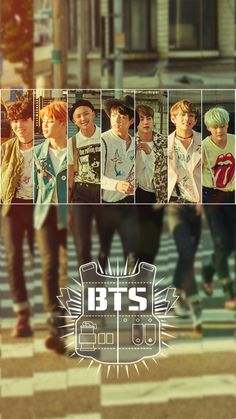 BTS Run Wallpaper
