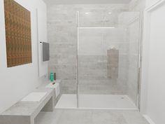 Een klassiek badkamer samen met een douche en bad combinatie naast elkaar klassieke badkamers - Washand ontwerp voor wc ...
