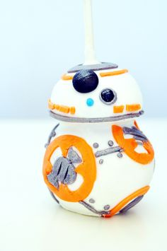 How to Make a BB-8 cake pops