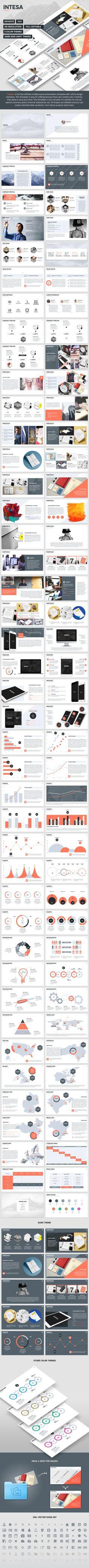 Intesa Keynote Presentation Template  #marketing #startup • Download ➝ https://graphicriver.net/item/intesa-keynote-presentation-template/15107322?ref=pxcr