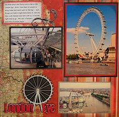 The London Eye, London, England - RIGHT SIDE - Scrapbook.com