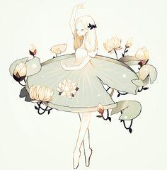 "tofuvi: "" lilypad ballet. """