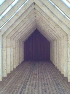 remash: kebony boat house ~ trestykker + kebony