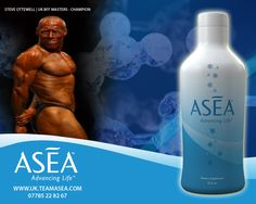 Using ASEA has Increased my Recovery my Energy and My sleep quality I feel great and I will never stop Using ASEA and It gives me a great ADVANTAGE over my COMPETITION   www.uk.teamasea.com
