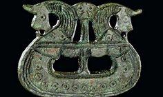 Brooch shaped like a ship, 800-1050, British Museum Viking exhibition 2014