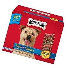 Milk-Bone Flavor Snacks for Dogs of All Sizes Dog Snacks, Dog Treats, Climbing Gloves, Dog Biscuits, Small Dogs, Dog Food Recipes, Pet Supplies, Bones, Milk