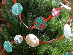 If you can't bear to toss last year's holiday cards but you don't quite know what to do with them, try making this simple garland. It's a project even little hands can do, and a great way to gather the family for an afternoon of movies, cocoa, and crafting.