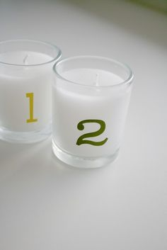 How to make simple advent votives
