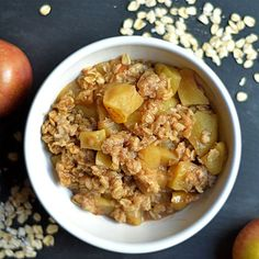 The EASIEST apple crisp ever!! Less than 15 minutes in your Instant Pot for this delicious classic dessert!