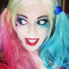 New harley makeup tutorial on my youtube channel  #harleyquinn #harleyquinncosplay #suicidesquad #suicidesquadharleyquinn #cosplay #tutorial #cosplaytutorial #makeuptutorial #youtube #youtuber