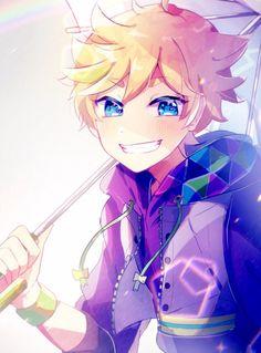Isn't he cute ?!