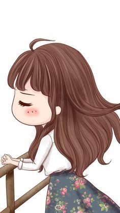 just take a breath and pray Love Cartoon Couple, Cute Love Cartoons, Girl Cartoon, Cute Cartoon, Cartoon Art, Kawaii Chibi, Kawaii Cute, Kawaii Girl, Anime Chibi