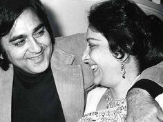 An old pic of Sunil dutt with Nargis dutt