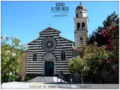 Levanto - Chiesa di Sant'Andrea - Albergo Al Ponte Antico Carrodano - La Spezia - Liguria