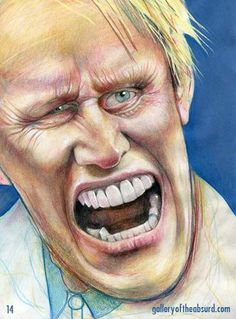 Gary Busey  (Illustration by 14)
