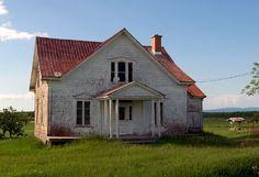 Maison abandonnee - Saint-Antoine-de-Tilly, Quebec