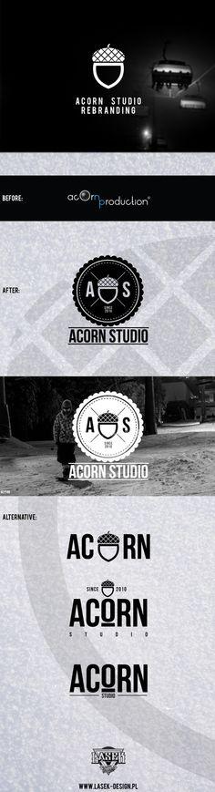 Acorn Studio by Peter Laskowski, via Behance