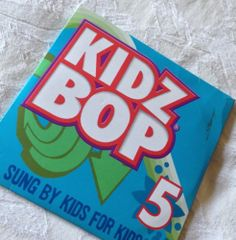 Kidz Bop 5 Sung by Kids for Kids CD 2009 Kidz Bop McDonalds | eBay