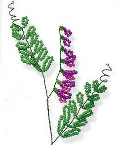 Простые цветы из бисера. Обсуждение на LiveInternet - Российский Сервис Онлайн-Дневников