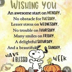 Peanuts Quotes, Snoopy Quotes, Good Night Quotes, Great Quotes, Inspirational Quotes, Motivational, Good Morning Snoopy, Charlie Brown Quotes, Have A Blessed Week