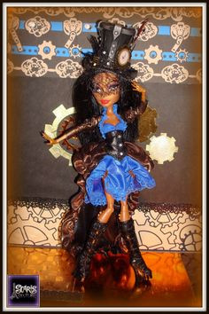 OOAK steampunk outfit for Robecca Steam by Scaris Couture