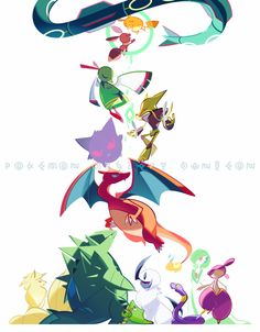 Alternative Pokemon Art : Photo